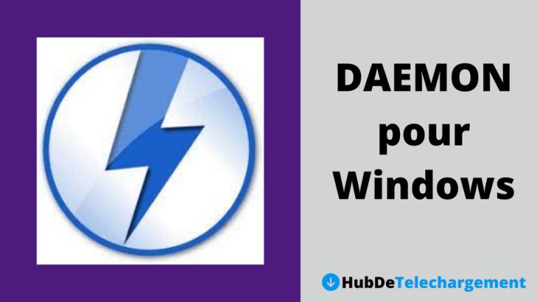 Télécharger les outils DAEMON pour Windows [Dernière version 2020]