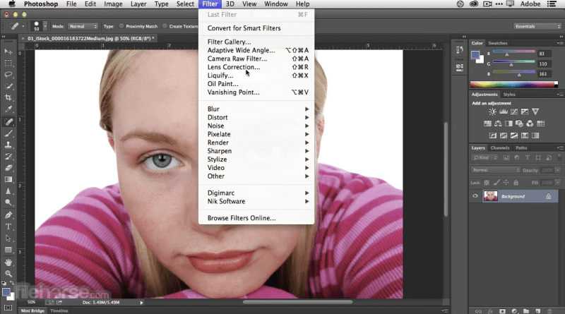 Téléchargez Adobe Photoshop 2019 pour Mac gratuitement