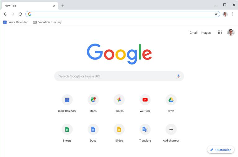 Document ISO de Google Chrome OS pour Windows
