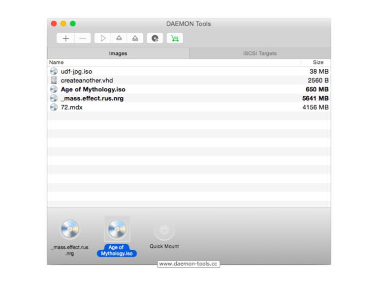 Télécharger les outils DAEMON pour Mac OS