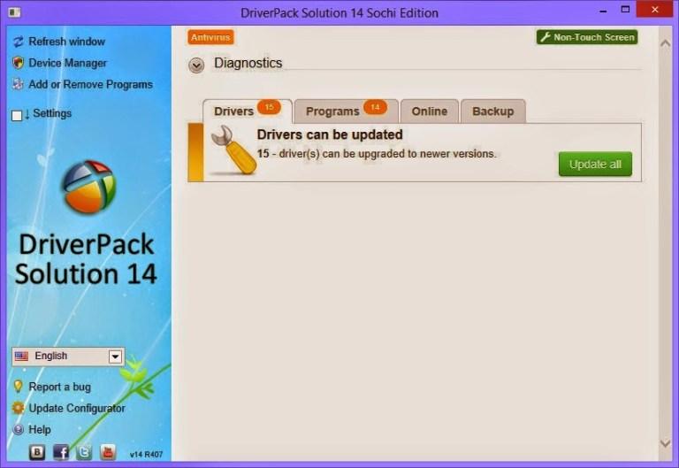 Driverpack Solution 14 Télécharger la version complète gratuitement