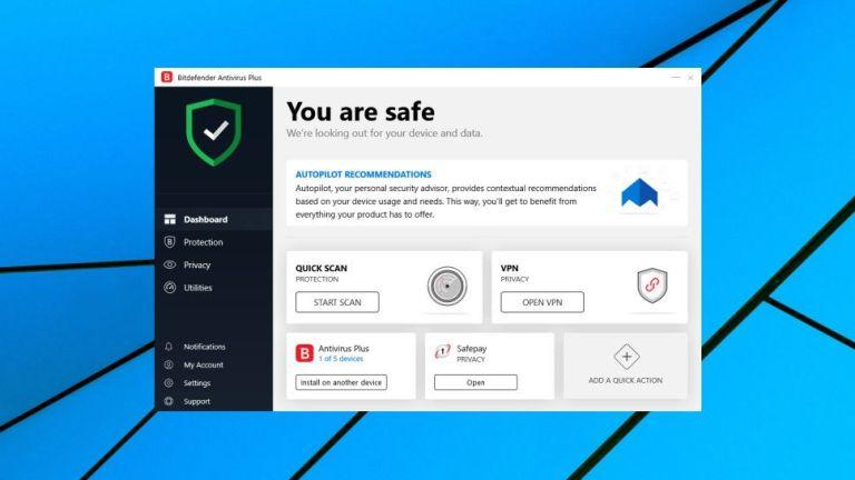BitDefender Antivirus 2020 pour Windows