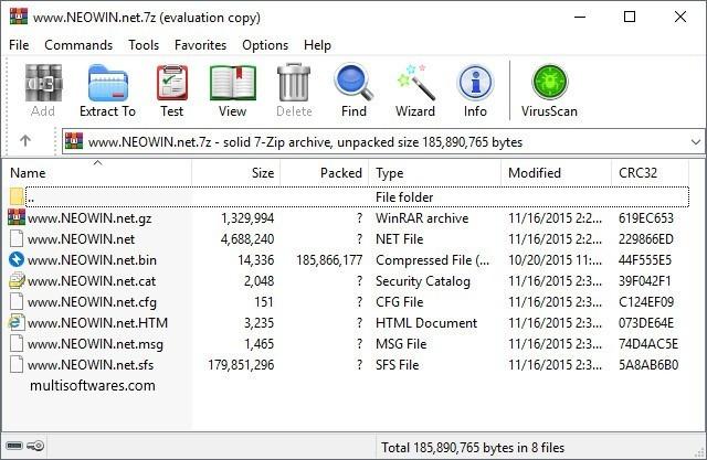 WinRAR 5.80 pour Windows