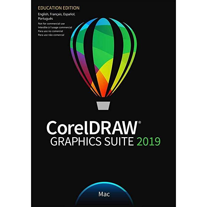 CorelDRAW Graphics Suite 2019 version complète pour Mac OS Téléchargement gratuit