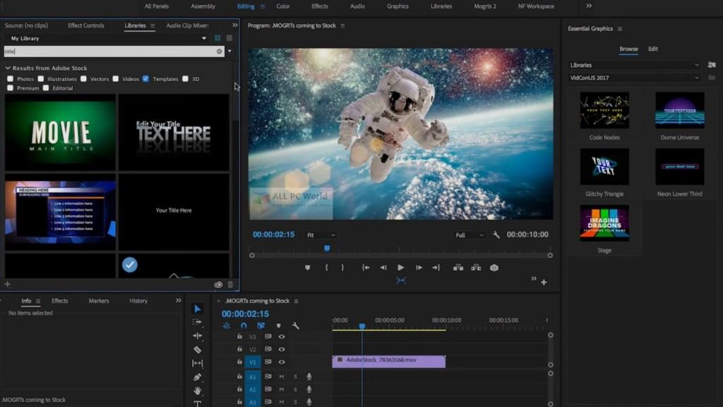 Téléchargement de la version complète d'Adobe After Effects CC 2019 pour Windows