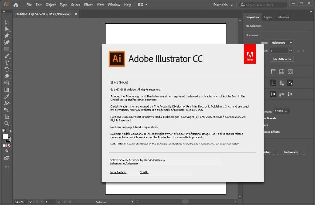 Télécharger la version complète d'Adobe Illustrator CC 2020