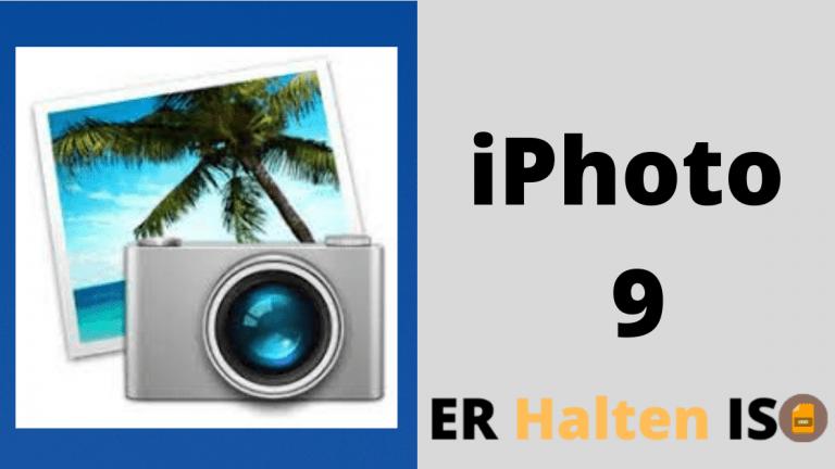 Téléchargez la version complète d'iPhoto 9 pour Mac OS