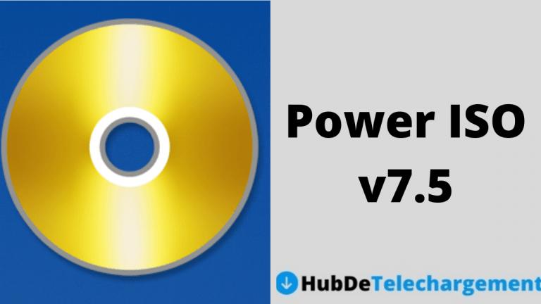 Téléchargez la version complète de Power ISO v7.5 gratuitement