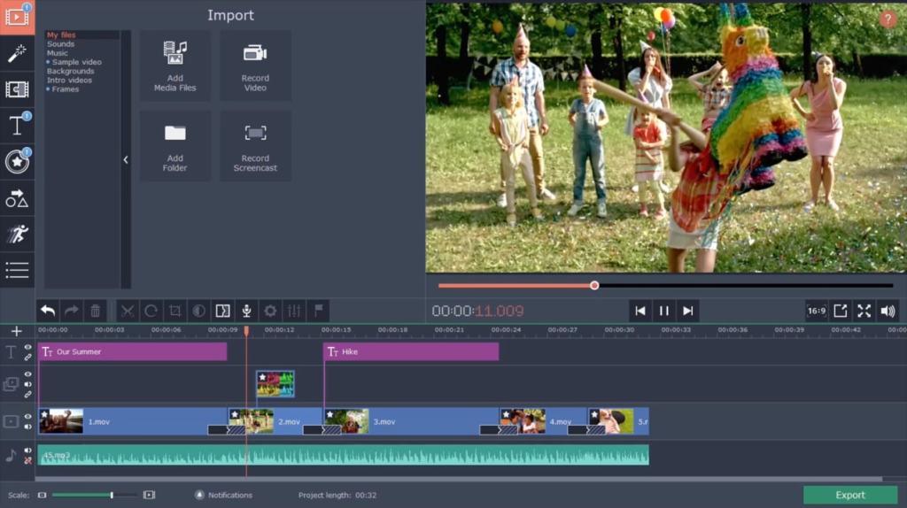 Movavi Video Editor 2020 version complète gratuite