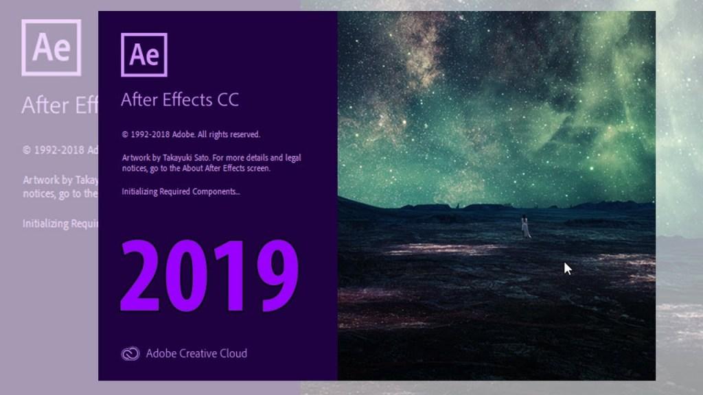 Téléchargez la version complète d'Adobe After Effects CC 2019 pour MAC OS