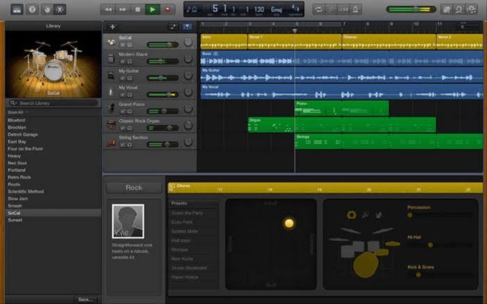 Téléchargement gratuit de GarageBand pour Mac