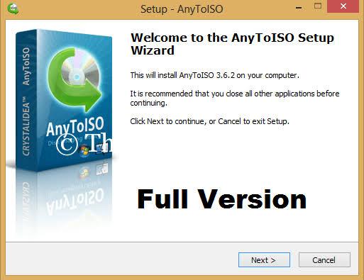 AnyToISO Pro pour Windows et Mac