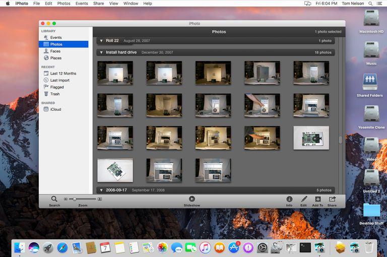 Téléchargement gratuit d'iPhoto 9 Mac OS