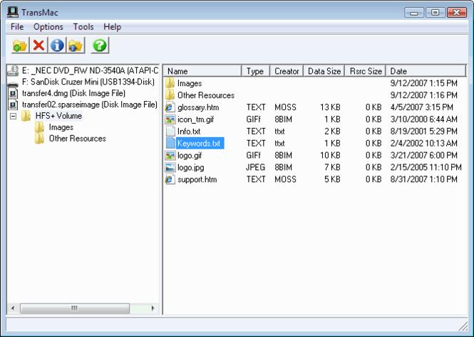 Téléchargement gratuit de TransMac pour Windows