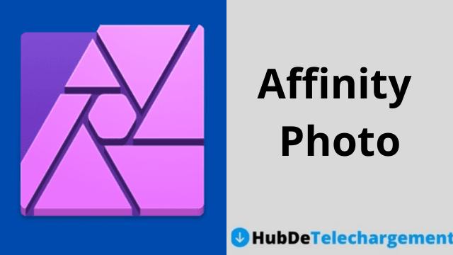 Téléchargez la version complète d'Affinity Photo gratuitement