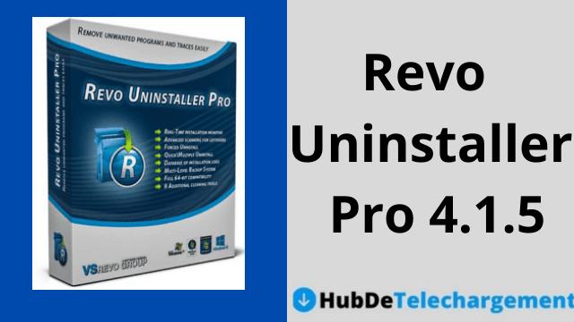 Téléchargez Revo Uninstaller Pro 4.1.5 gratuitement