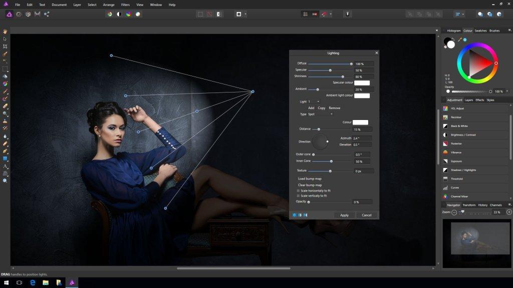 Affinity Photo Téléchargement gratuit pour Windows 10, 7, 8